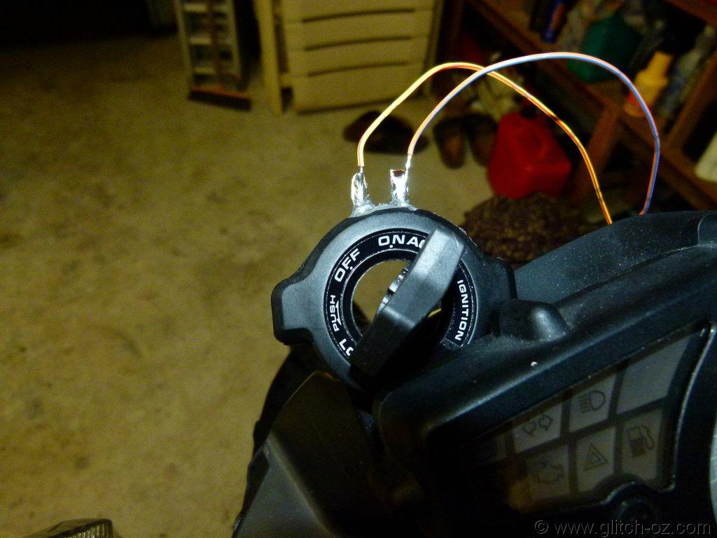 Ignition/ transponder bypass   Cafe Husky