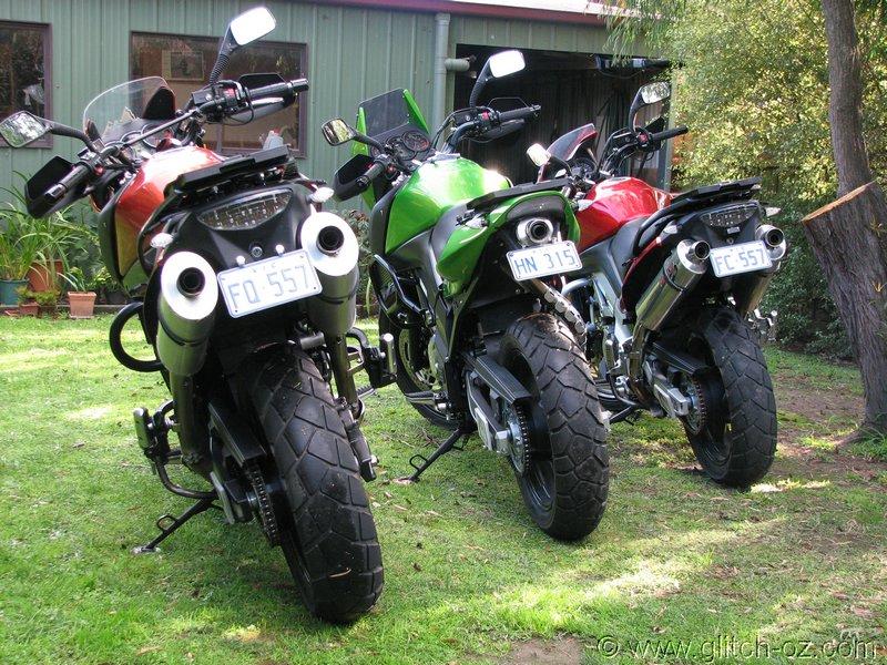 Suzuki Bandit Crash Bars